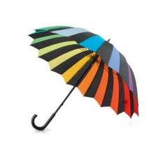 Механический зонт-трость Радуга