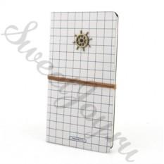 Блокнот в кожаной обложке Captain Notebook