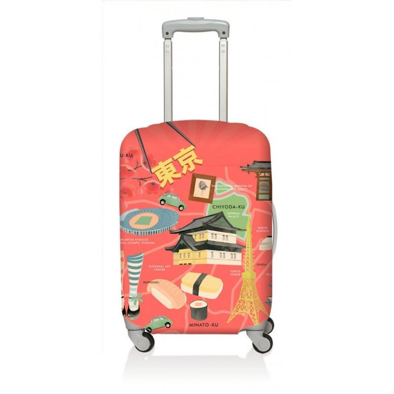 Чехол для чемодана LOQI Urban Tokyo