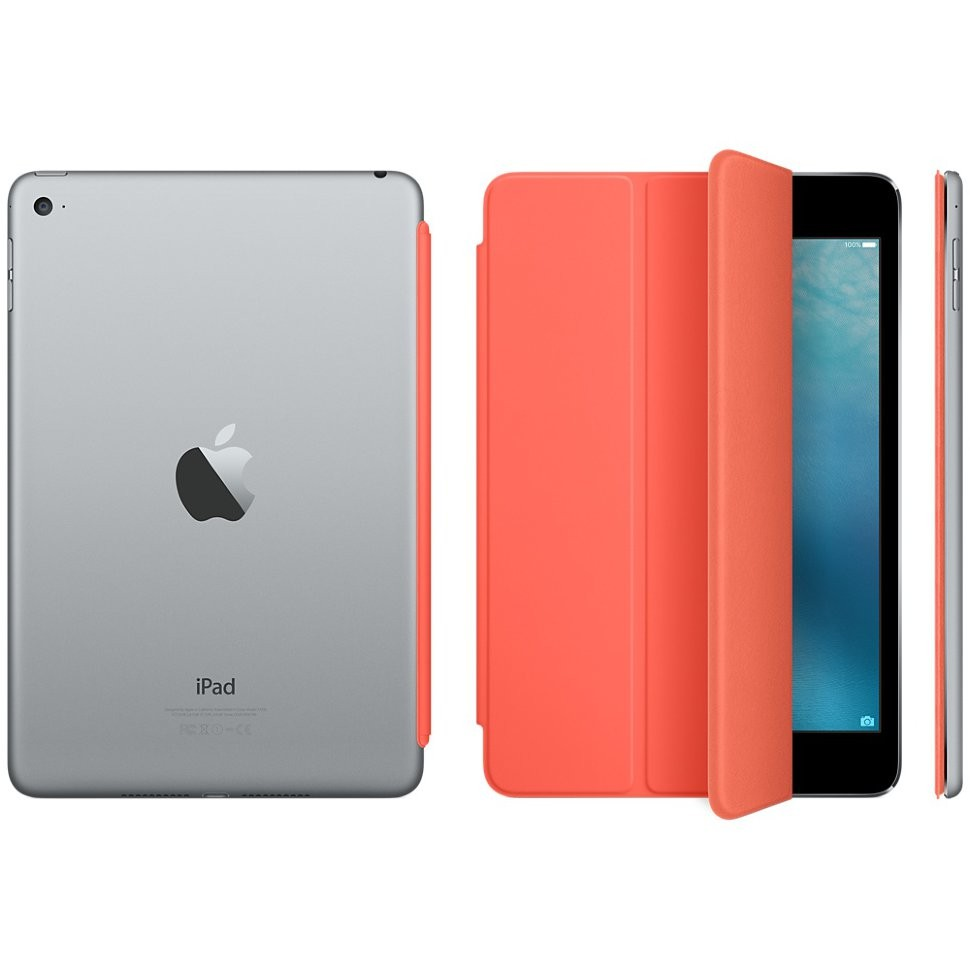 Чехол-обложка Apple Smart Cover Orange для iPad mini 4