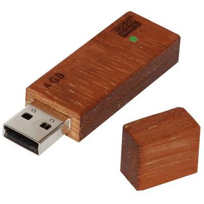 USB flash накопитель деревянный «ECO» 4 Гб
