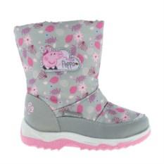 Сноубутсы Peppa Pig (цвет: серый)