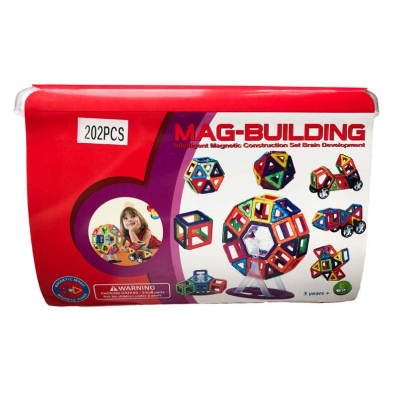 Магнитный конструктор Mag Building (202 детали)