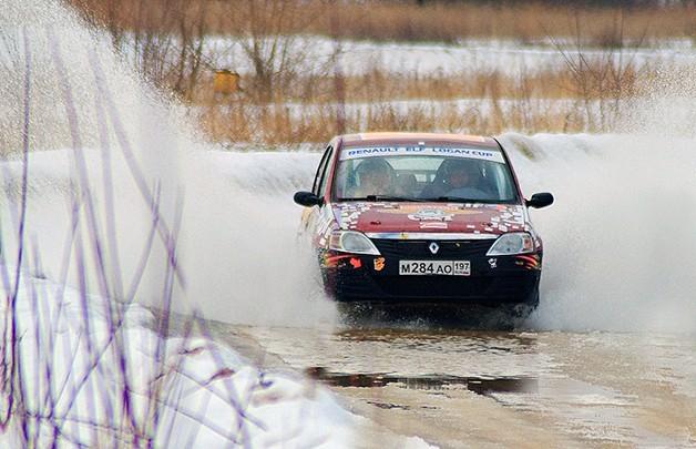 Сертификат Заезд в роли штурмана на Renault Logan