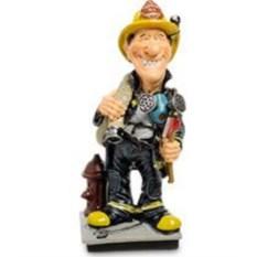 Декоративная статуэтка Пожарный