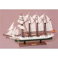 Модель парусного корабля Элькано