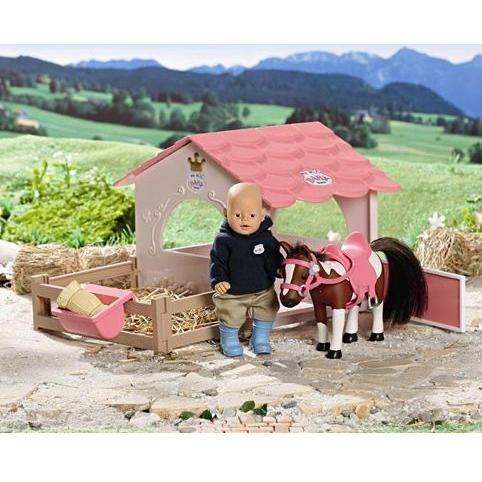 Конюшня для куклы mini Baby Born