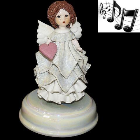 «Ангел с сердцем» музыкальная статуэтка