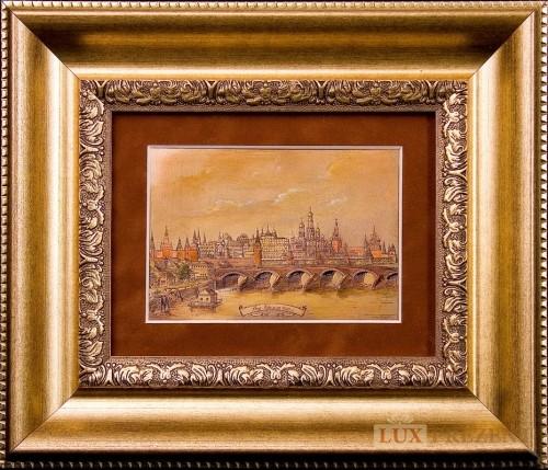 Офорт Московский Кремль 1825 г.