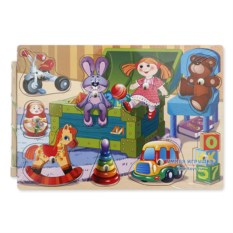 Магнитный вкладыш «Мои игрушки»