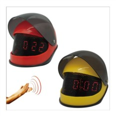 Часы Мотоциклетный шлем с включением от звука