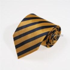 Желтый галстук в полоску Mario Valli