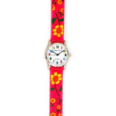 Часы «Малиновые цветы» Tik-Tak