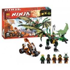 Конструктор Bela Ninja Зелёный дракон