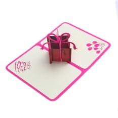 Объемная открытка Подарок