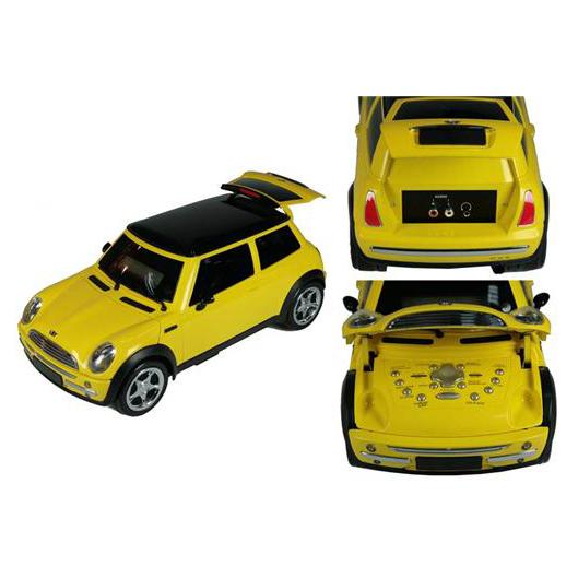 Музыкальная система — модель Mini Cooper