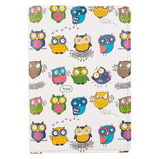 Обложка для паспорта Owls