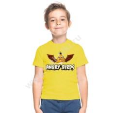 Детская футболка Чак из Angry birds