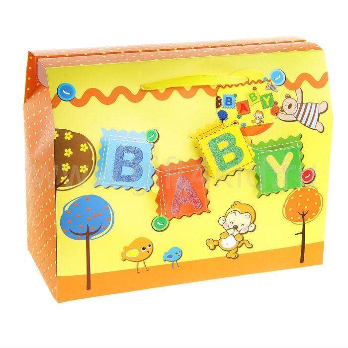 Подарочная коробка-сундучок Baby