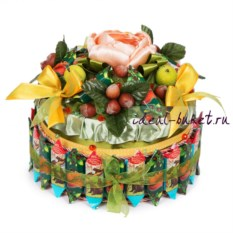 Торт-шкатулка Ореховый
