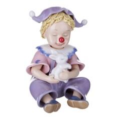 Статуэтка Клоун с кроликом