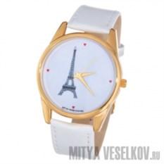 Часы Mitya Veselkov Париж золотистого цвета