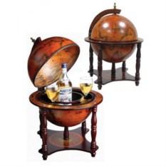Настольный глобус-бар (диаметр сферы 33 см)