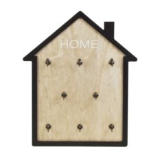 Настенная ключница Уютный домик