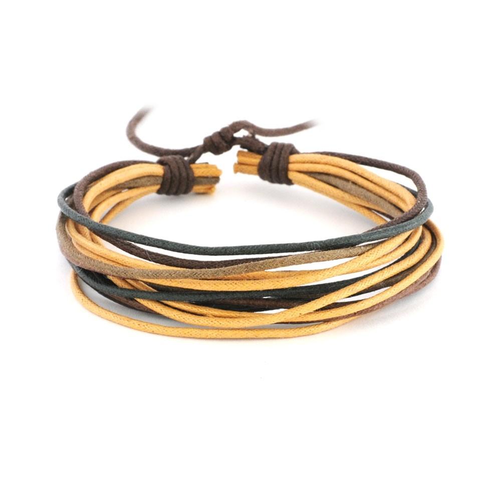 Веревочный браслет