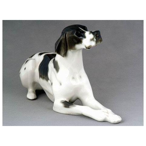 Анималистическая скульптура «Черный пойнтер»