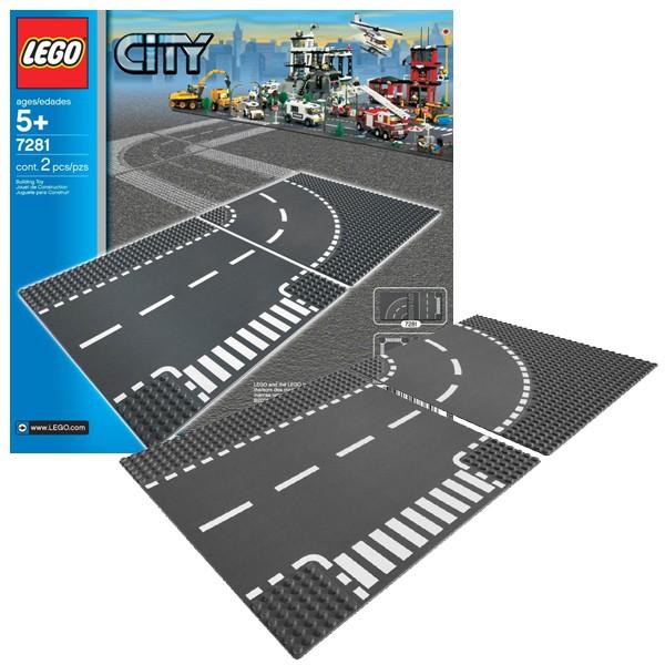 Конструктор Lego City Т-образная развязка