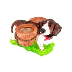 Кашпо Собака с корзинами