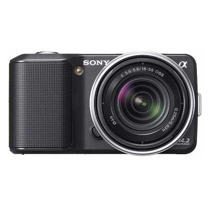 Цифровая фотокамера Sony Alpha NEX-3