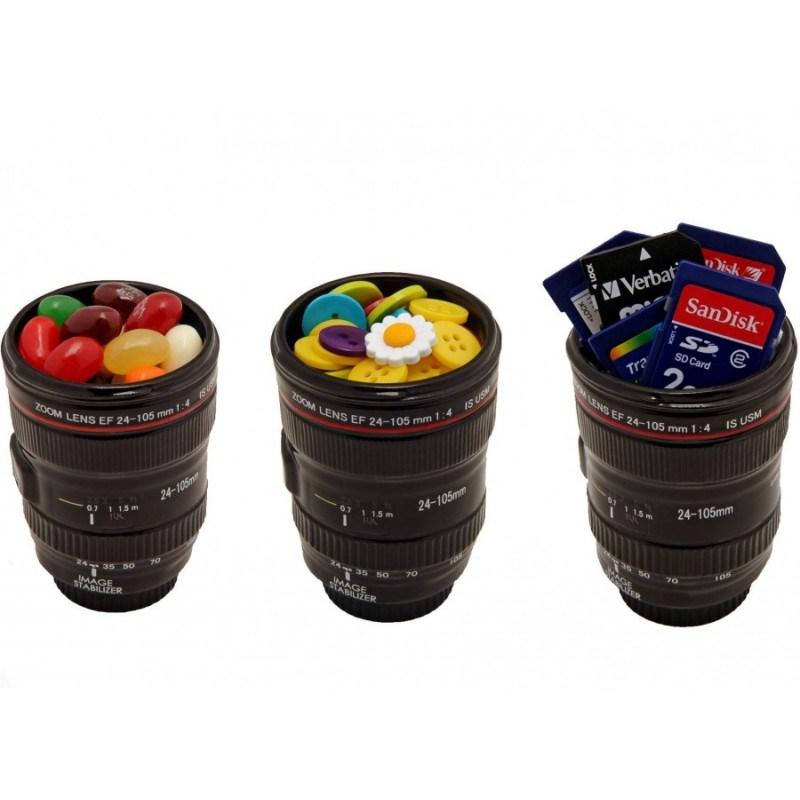 Набор рюмок-объективов Canon, Nikon