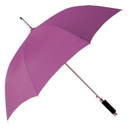 Зонт-трость Rumba, полуавтомат в чехле, сиреневый