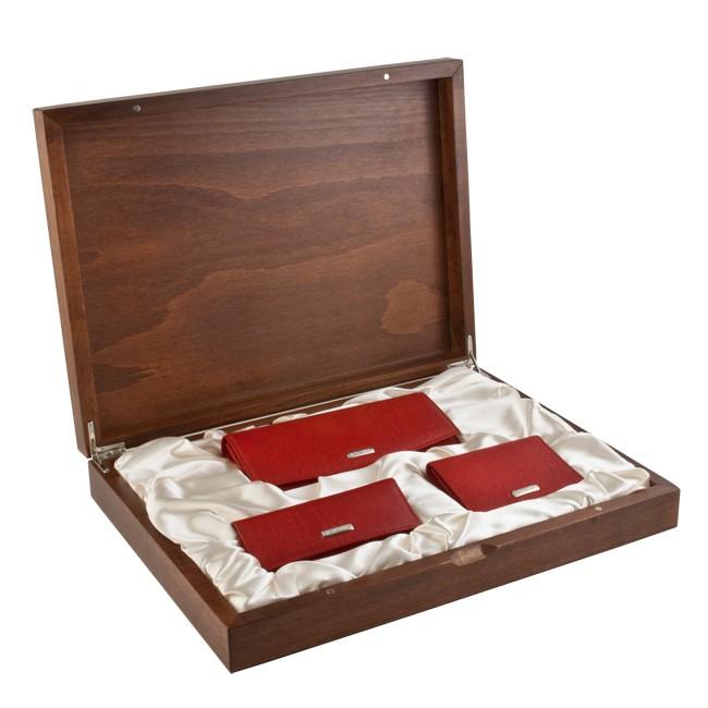 Подарочный женский набор Neri Karra, красный