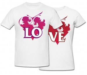 Комплект футболок Love