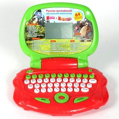 Детский компьютер Маша и Медведь