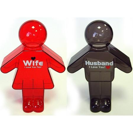 Копилка пара HUSBAND WIFE