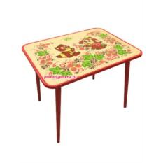 Детский стол с художественной росписью