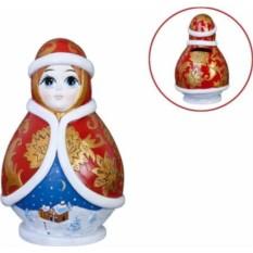 Новогодняя копилка Снегурочка, коллекция Nevalyashka