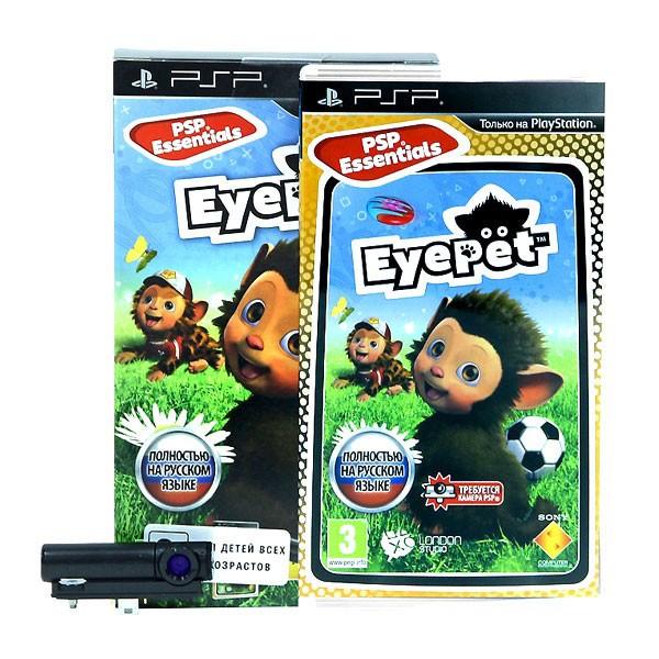 Набор: игра EyePet + камера (PSP)