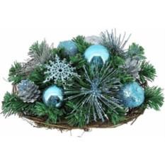 Хвойное украшение Корзина Mister Christmas