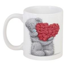 Кружка Мишка Тедди с сердцем