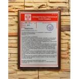 Подарочный диплом (плакетка) Правительственная телеграмма