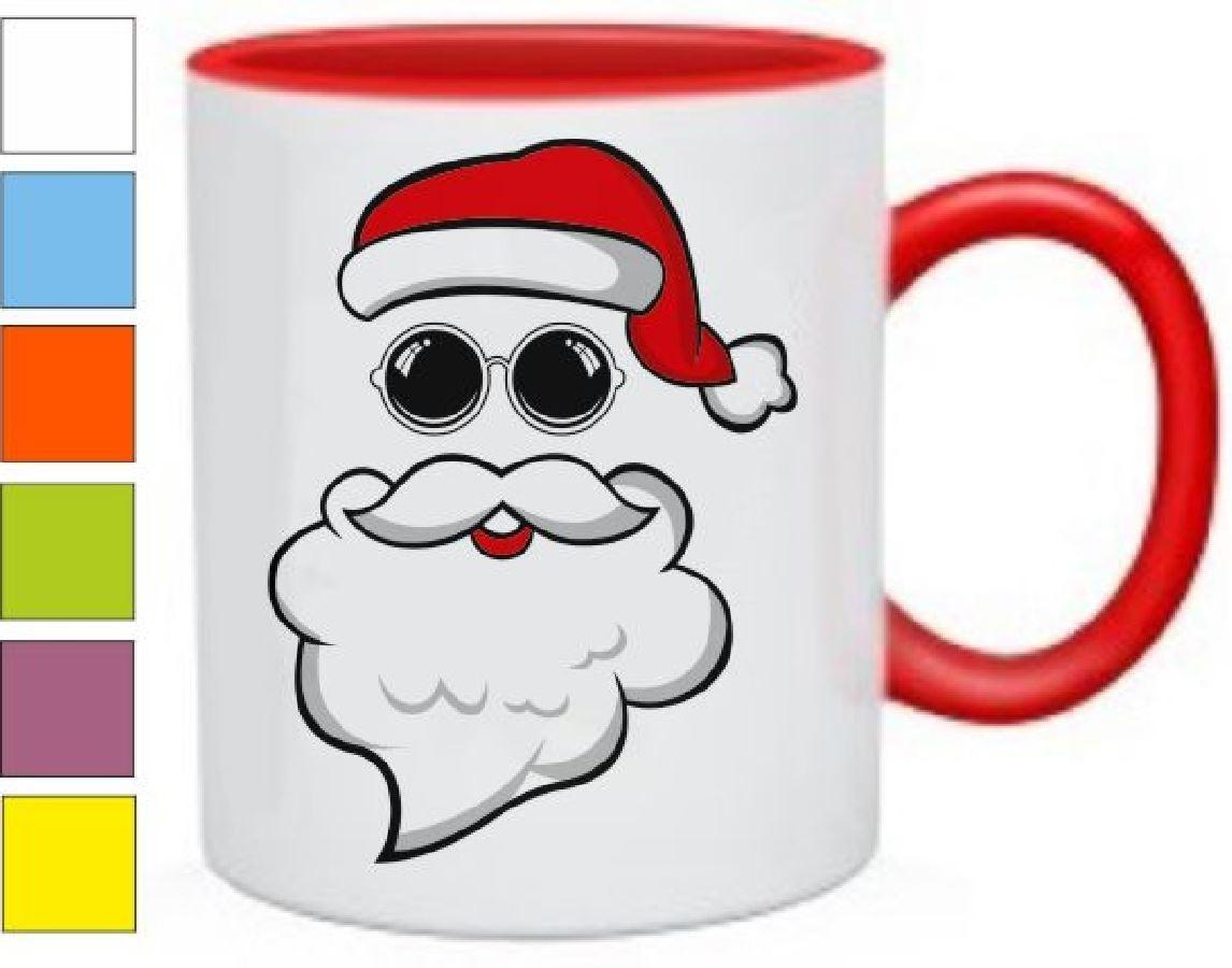 Кружка Дед Мороз в очках