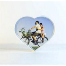 Вращающаяся фоторамка «2 сердца»
