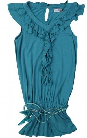 Бирюзовое платье Artigli