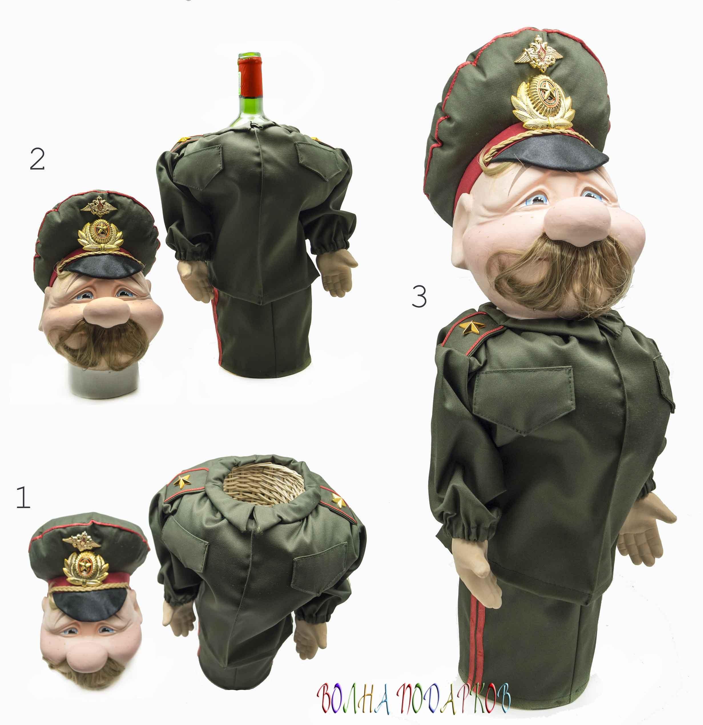Подставка-бар для бутылки Генерал