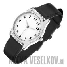 Часы Mitya Veselkov Обратный циферблат (цвет: белый)